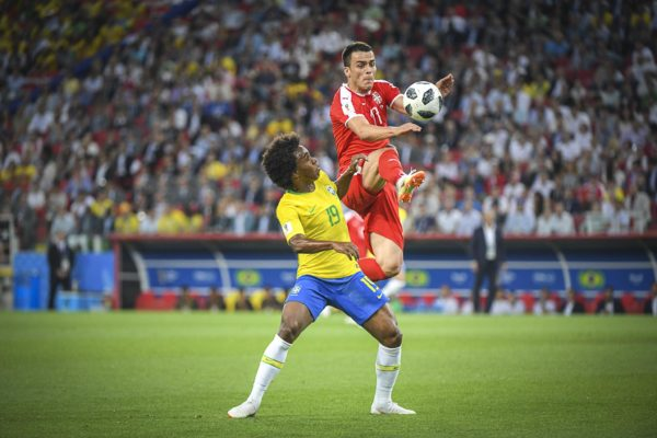 2018 FIFA World Cup Football Group E Serbia v Brazil Jun 27th