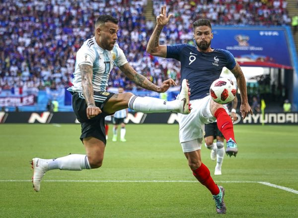 2018 FIFA World Cup Football Round of 16 France v Argentina Jun 30th