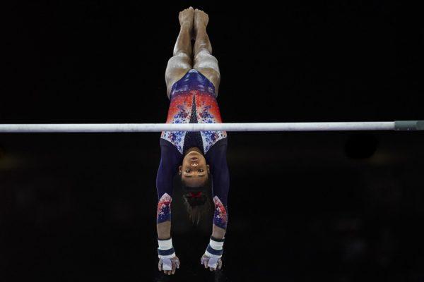 gymnastics-artistics-uneven-bars-Melanie-de- -Jesus-dos- Santos
